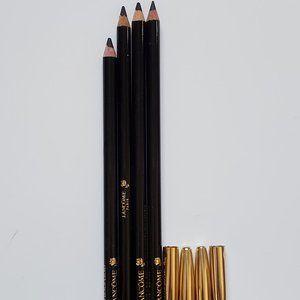 Lancome Lot-4 x BLACK EBONY Eyeliner Pencil